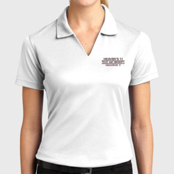 SQ-11 Ladies Dri-Mesh Polo