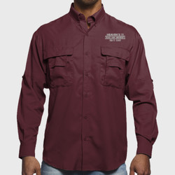 SQ-11 Dad L/S Performance Fishing Shirt