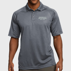 SQ-11 Dad Dri-Mesh Polo